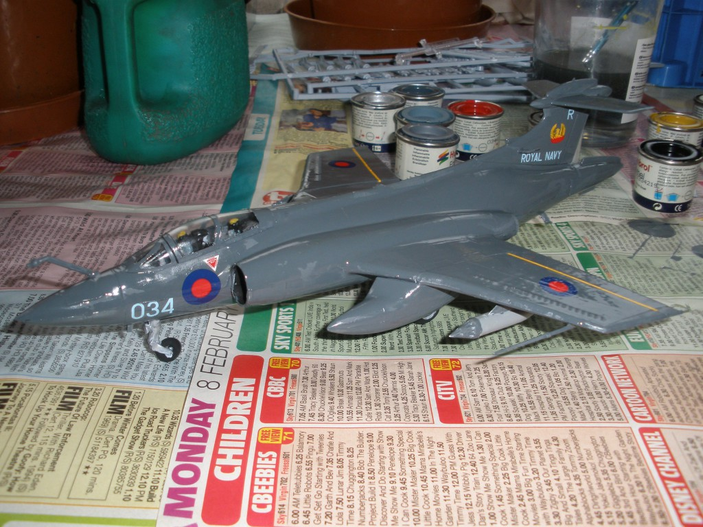 Model Aircraft! Photo credit: Buccaneer finished! by Kris Davies (license)