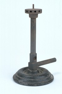 Bunsen Burner (Inv. 40900). We wonder if you could make s'mores with the flame from this?