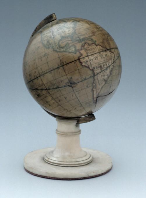 Miniature Terrestrial Globe, c.1825 (Inv. 33596)