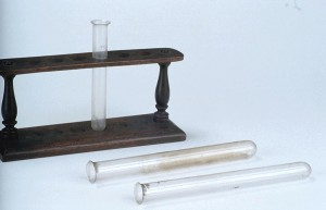 Test Tube Stand with Test Tubes, Mid-19th Century (Inv. 34639)