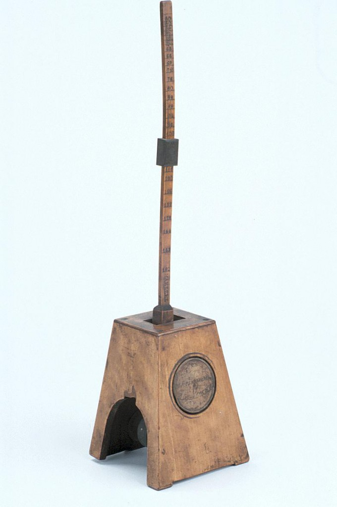 Metronome, c.1830, Inventory Number: 40764. Much older than the metronome in Lynn's story, this object forms part of the collection at the Museum of the History of Science.