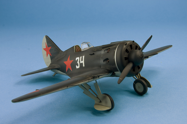 Have you built anything like this? Photo credit: Polikarpov I-16 07 by Andy Moore (License)