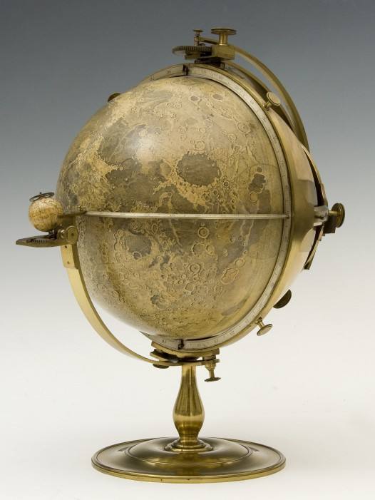 Selenographia Moon Globe, by John Russell, London, 1797 (Inv. 52085)