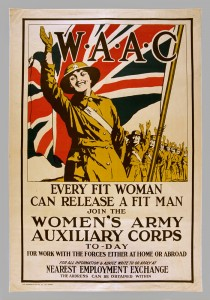 'W.A.A.C. Every Fit Woman Can Release a Fit Man', 1918 (c).