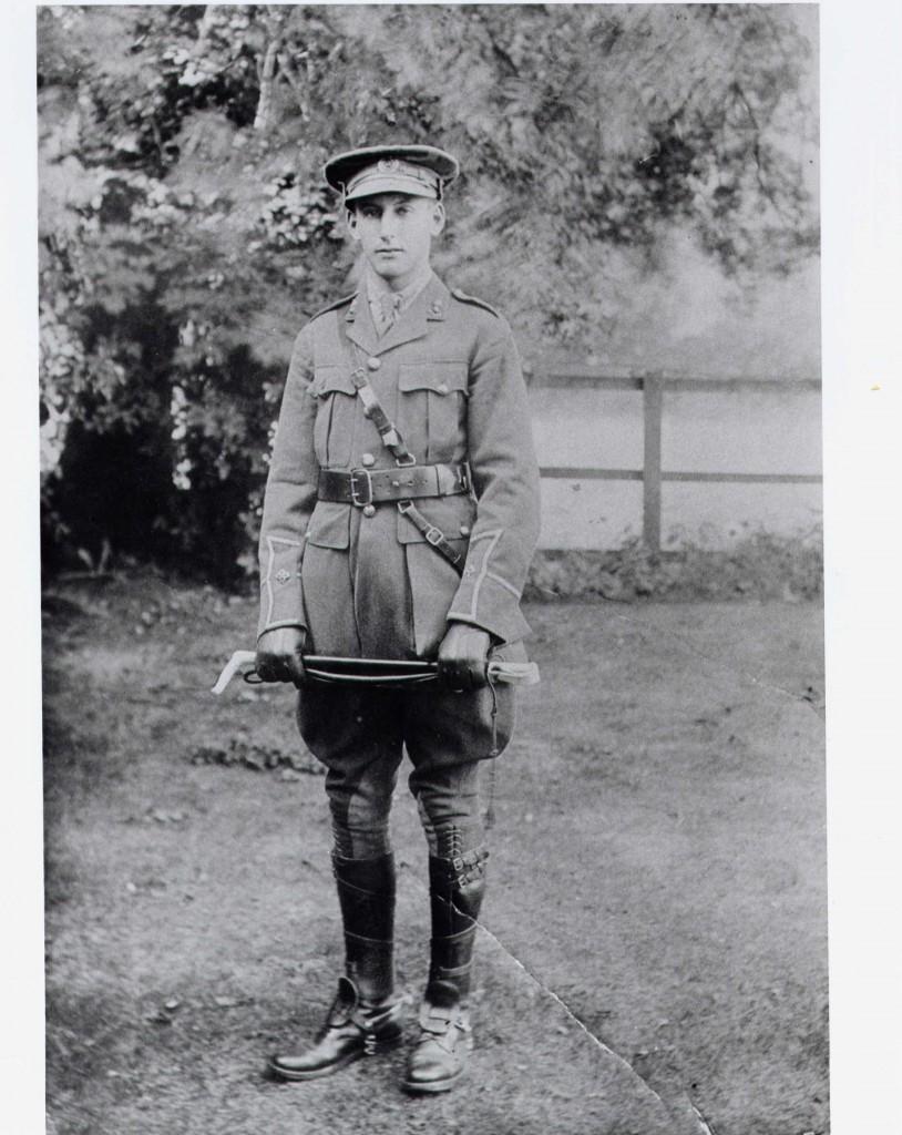 Second Lieutenant Basil Schonland R.E.