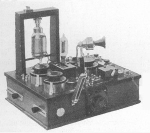Marconi Short Distance Wireless Telephone Transmitter and Receiver