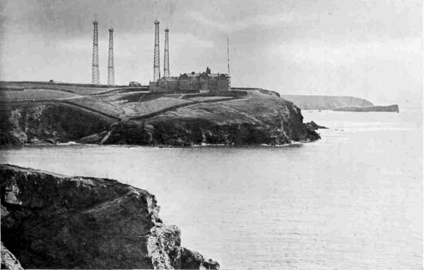 Marconi wireless station at Poldhu, c.1910.