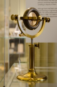 Gyroscope by Newton & Co, London, c. 1905; inv. 13293