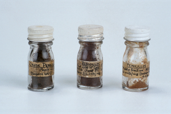 Penicillin jars
