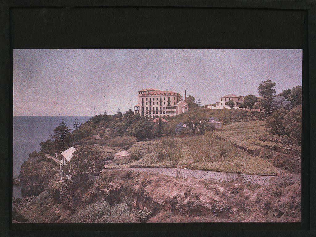 Sarah Angelina Acland, Reid's Palace Hotel, Funchal (autochrome, 1908?) HSM, Inventory no. 19122