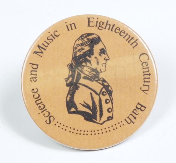 Badge, c. 1977 (Inv. 59865).