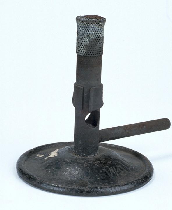 Gauze Top Bunsen Burner, c.1874, (Inv. 45602)