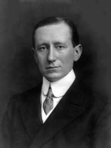 Portrait of Guglielmo Marconi from 1908