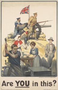 WWI Poster, IWM
