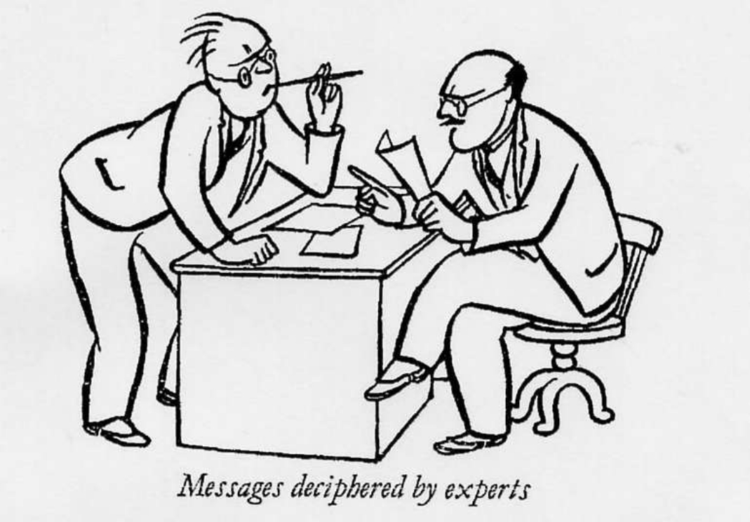 Another cartoon from War, Wireless and Wrangles (1934)