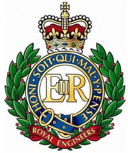 Royal Engineers Cap Badge, as of 1900
