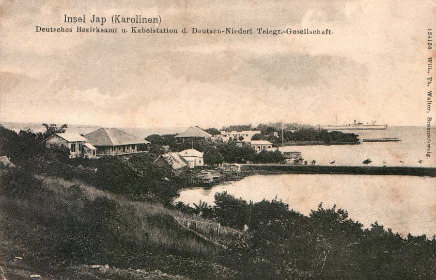 German-Netherlands Telegraph Company District Office and Cable Station, Yap.