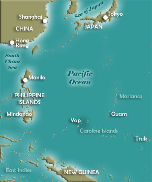 Map of Yap Island