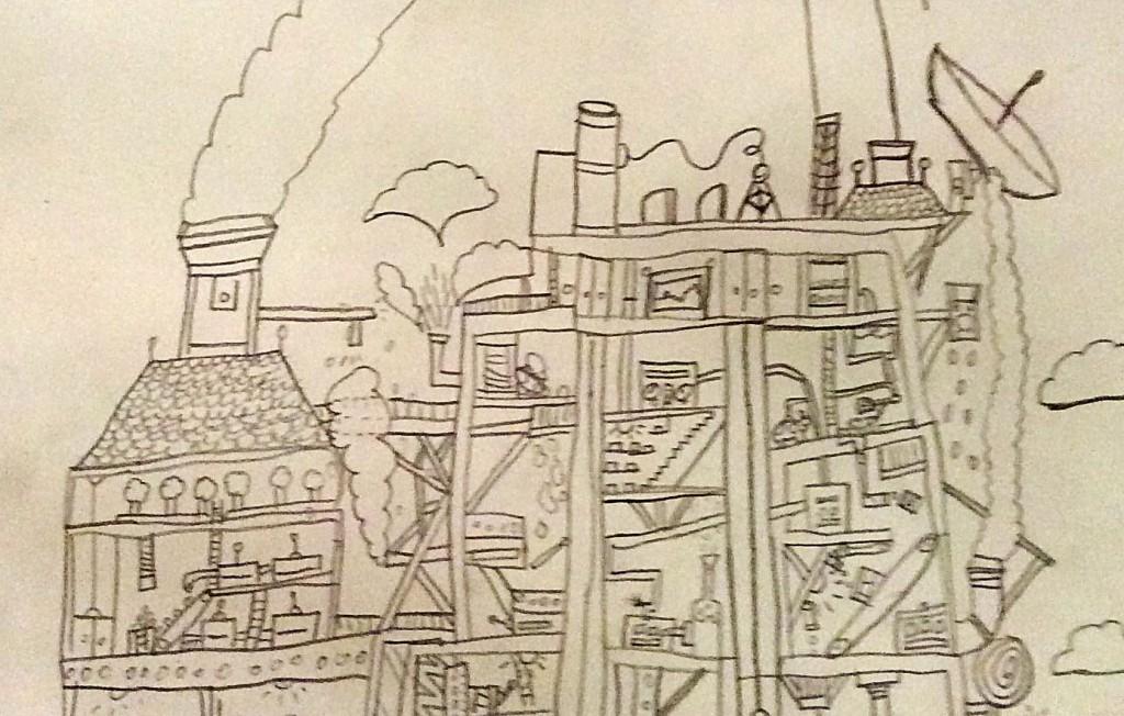 Arts Award drawing