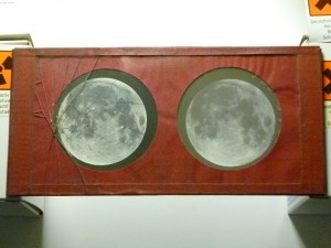 A stereoscopic transparency of the Moon, taken with De la Rue's camera