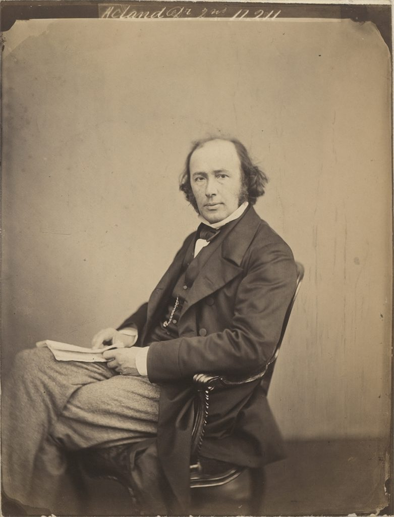 "Maull & Polyblank, ""Dr Acland"" (albumen print, 1860) Bodleian Library, MS. Photogr. b. 34, f. 151"