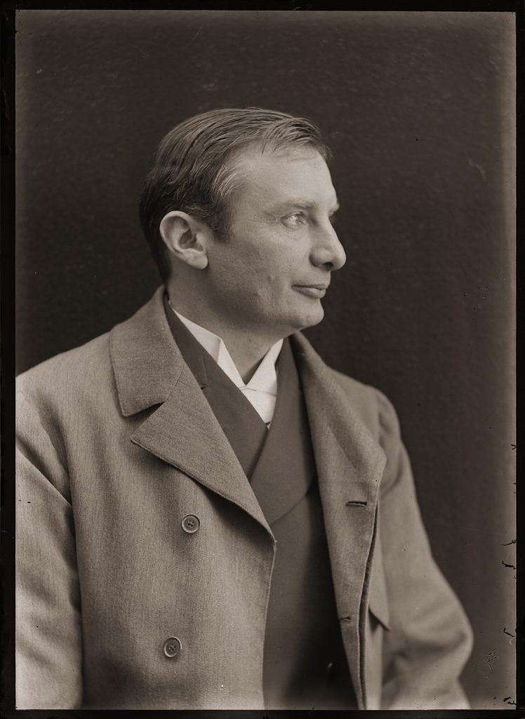 "Sarah Angelina Acland, ""Mr Mordecai Wolfgang Haffkine"" (digital positive from half-plate negative, 1899) Bodleian Library, Minn Collection Negative 169/4"