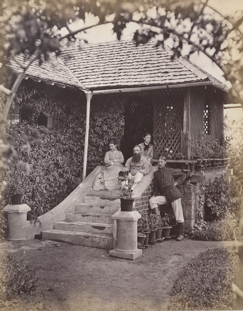 Taken or collected by Herbert Acland, Mrs and Mrs Richard J. Wylie, and Captain Collins, Pita Ratmalle Coffee Estate, Sri Lanka (albumen print, 1876 or 1877) Bodleian Library, Ms. Photogr. c. 175